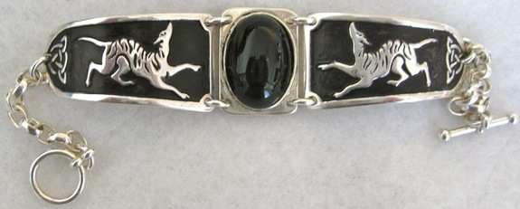 Black Horse Design Bracelet